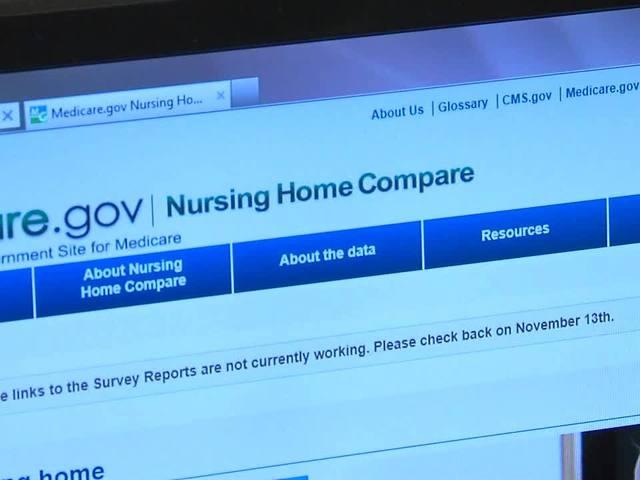 Walk through tutorial to find nursing home comparisons