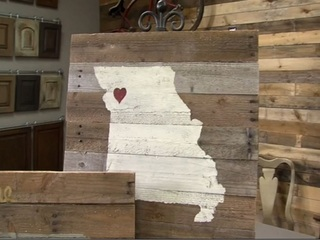Diva of DIY: Turn pallets into state signs