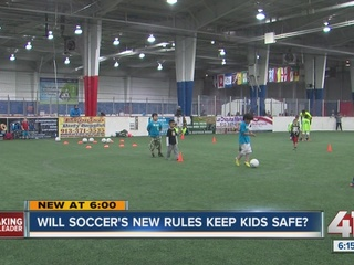 KCK soccer coach questions new heading ban