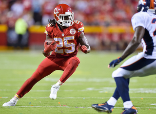 Reports: Chiefs release RB Jamaal Charles