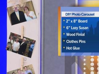 DIY Photo Carousel