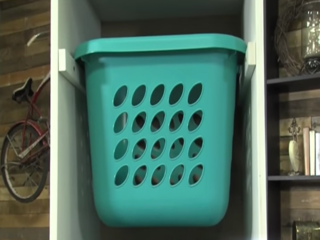 WATCH: Make a laundry sorting station for kids
