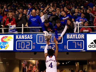 Kansas moves to No. 1 in AP poll