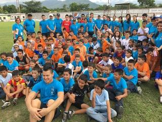 Sporting KC player inspires hometown children