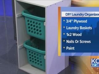 DIY Laundry Organizer