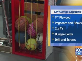 DIY Garage Organizer