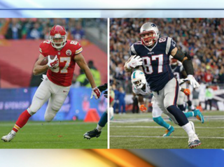 Chiefs-Pats to showcase top tight ends