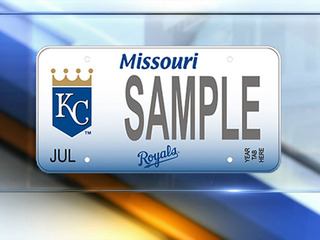 Royals to offer personalized MO license plates
