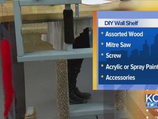 DIY Wall Shelves