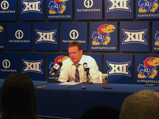 WATCH: Bill Self sorry for 'unsportsmanlike act'