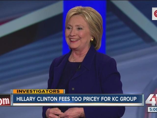 Hillary Clinton speaking fee too pricey for Kansas City speech