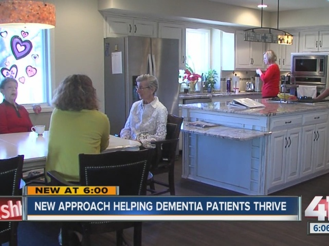 New approach helping Alzheimer's patients thrive