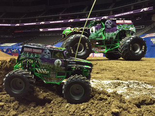 WATCH: Monster Jam revs up for the weekend