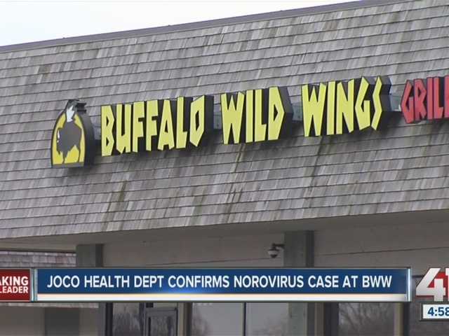 Health department confirms 1 case of norovirus at Overland Park Buffalo…