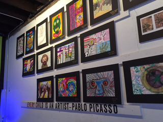 A first for First Friday: Kids' art on display