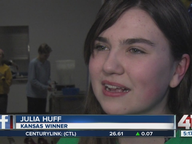 Leawood 8th-grader selected as national finalist for Google competition