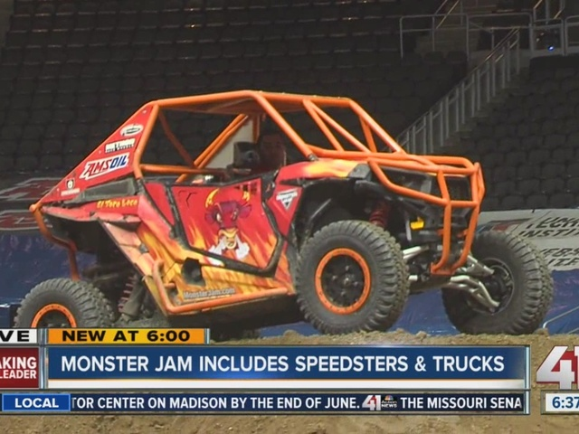 Monster Jam is at the Sprint Center