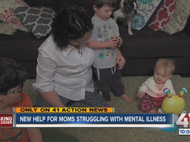 New help for moms struggling with mental illness