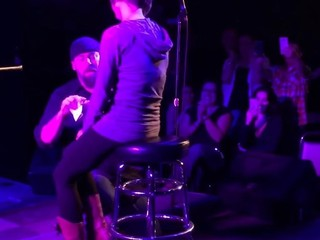WATCH: Comedian Ken Lewis proposes on stage