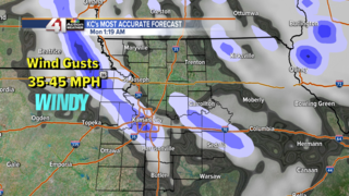 Snow showers likely later tonight