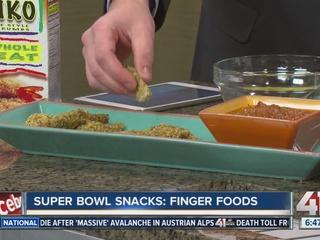 RECIPE: Finger food Super Bowl snacks