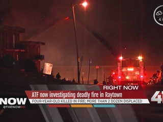 Federal agents investigating fatal Raytown fire