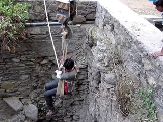 VIDEO: Animal Aid rescues dog trapped in a well