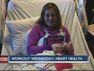 Playing tennis helped mom survive heart problems