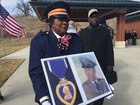 VA holds funeral for homeless Vietnam vet
