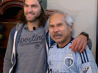 SportingKC star surprises terminally ill patient