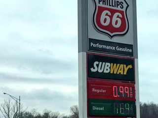 Gas at 99 cents/gallon spotted in KC metro