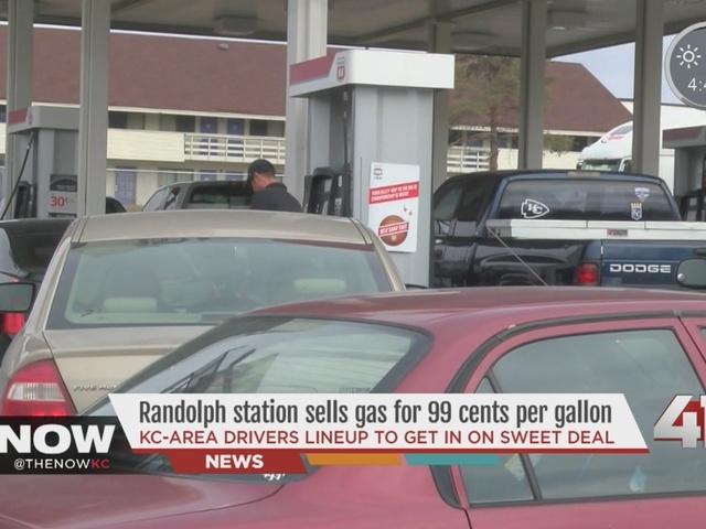99¢ gas in the metro
