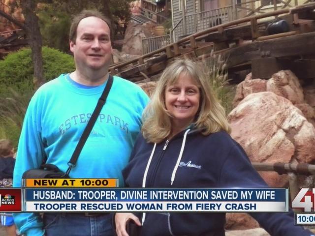 Husband: Trooper, divine intervention saved my wife
