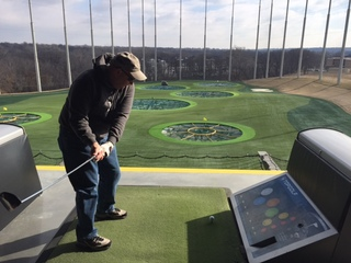 Top Golf hosting party for Tinder users