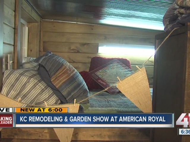 KC Remodeling & Garden Show at American Royal: Container home