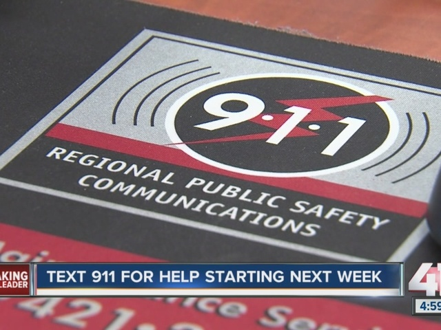 Nine metro counties to launch 911 texting next week