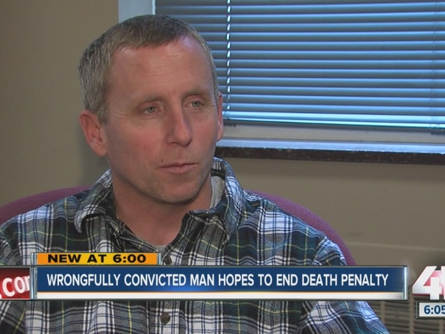 Wrongfully convicted man now taking up death penalty