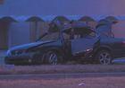 2 teens hurt in wreck on Emanuel Cleaver Blvd.