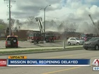Reopening of Mission Bowl delayed after damages
