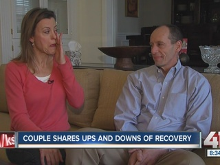 Husband's cancer helps inspire wife's business