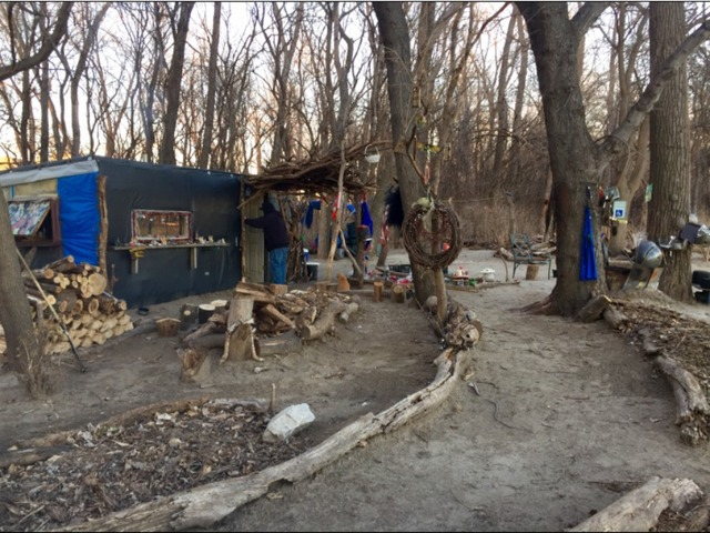VIDEO: A look inside a homeless camp