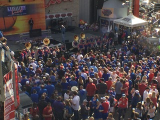 WATCH: KU pep rally before Baylor game