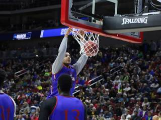 KU players discuss making it to NCAA tournament
