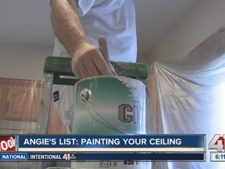 Angie's List: Painting your ceiling