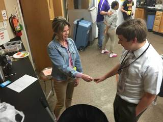 VIDEO: 'Job Olympics' for special needs students