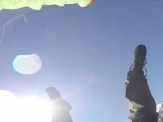 VIDEO: Paraglider catches his crash on cam