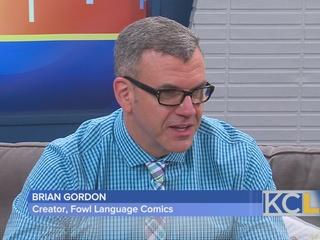 Author Brian Gordon Uses Fowl Language