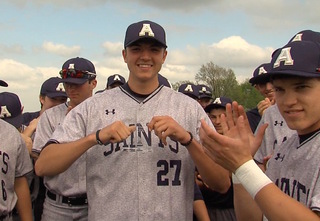 Aquinas' Riley Pint continues to turn heads
