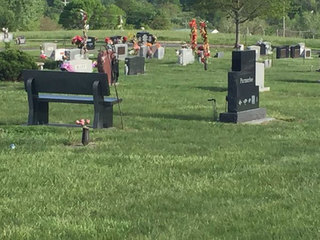 Blue Springs Cemetery says benches must go