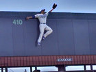 14-foot Royals player stolen from billboard